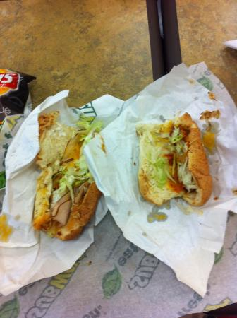 Subway: Where's the meat?
