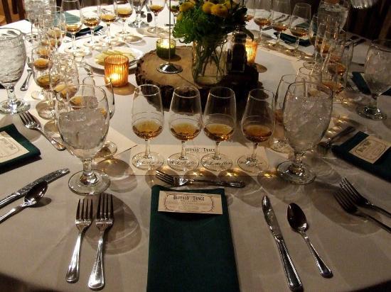 Mint Julep Tours: Weller Bourbon dinner at Buffalo Trace - Jan 2015