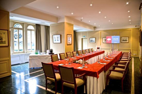 Carlton Lausanne Boutique Hotel : Room Rotonde for seminars