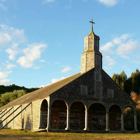 Isla Quinchao, Χιλή: Quinchao church, Quinchao, Chiloe