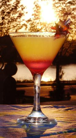 Char's at Tracy Mansion : Sunset Martini