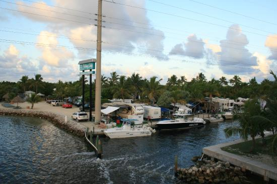 A shot of our canal from overseas highway picture of big for Big pine key fishing lodge big pine key fl