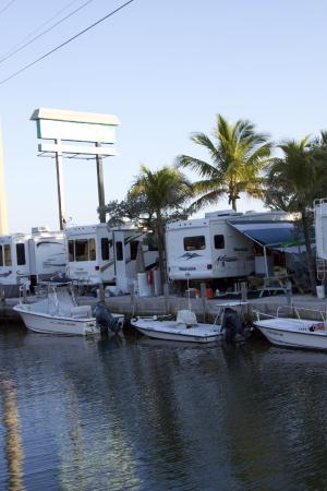 Boating and camping a perfect combonation picture of for Big pine key fishing lodge