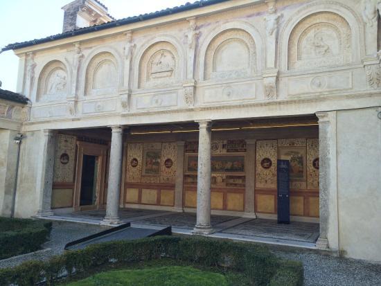Il giardino segreto foto di palazzo te mantova for Stanza mantova