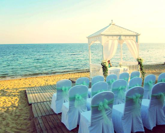 Agia Paraskevi, Grekland: The Wedding at the hotel