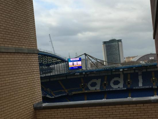 Millennium Copthorne Hotels At Chelsea Football Club View To The Right From Room 702