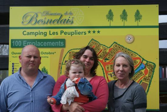 Camping Les Peupliers: L'équipe du domaine Les Peupliers