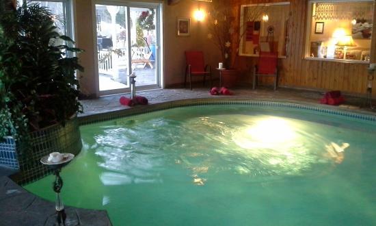 Snowflake Inn: The pool area