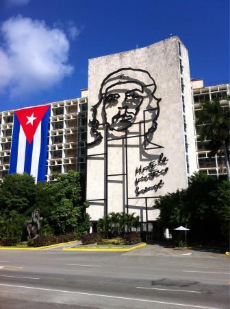 Plaza de la Revolucion: Che