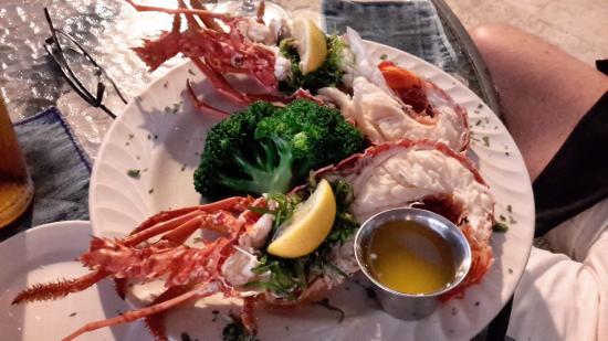 Blue Water Terrace: Lobster Dinner