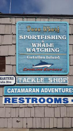 Dana Point, CA: sign
