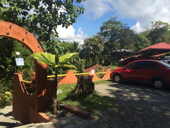 Hotel Villa Teca: Parqueo