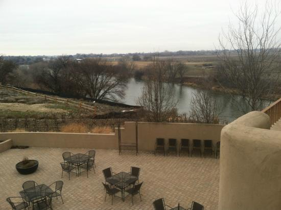 Inn at Desert Wind Winery : River view from the balcony