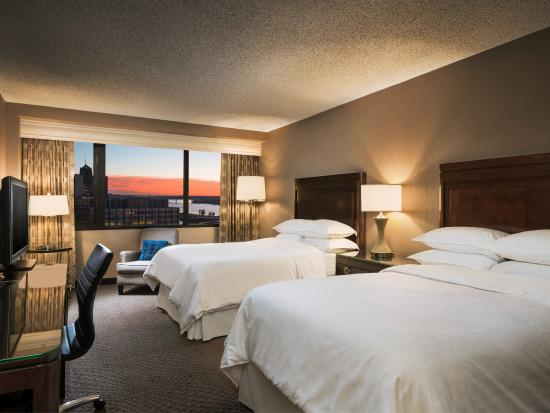 Sheraton Memphis Downtown Hotel: Traditional Double Guest Room