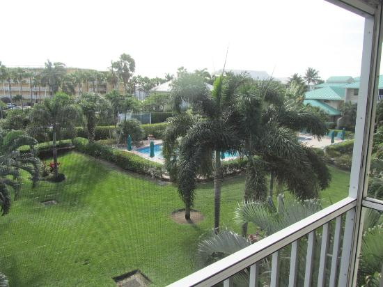 Plantation Village Beach Resort: view from the balcony of unit 61