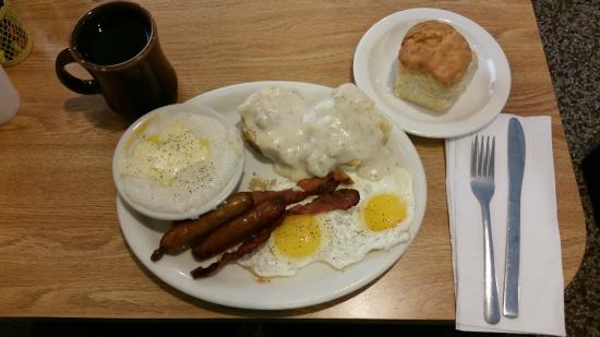 The Townhouse Restaurant: A breakfast fit for a king