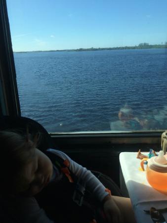 Seminole Gulf Railway Murder Mystery Dinner Train: train ride