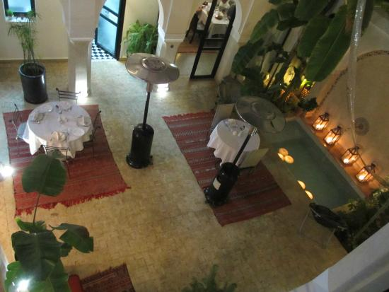 Riad Shanima & Spa: La cour