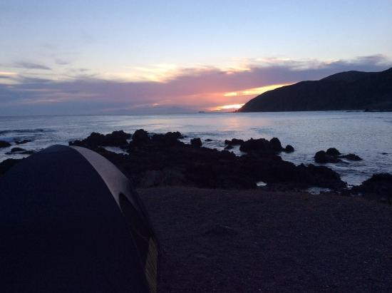 Adventure Capital: Looking over the Cook Straight to the South Island