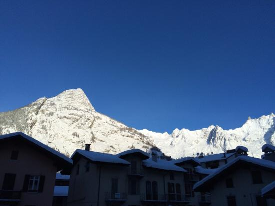Hotel Courmayeur : View from the room!
