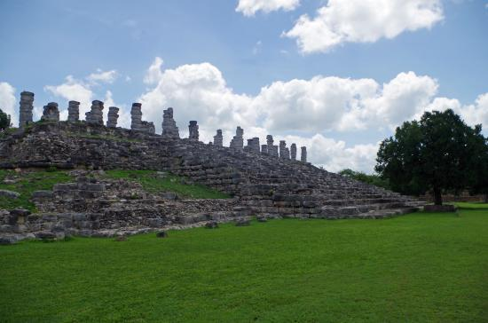 Ake's Mayan ruins: 1 of 4 Excavated Platforms