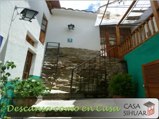Entrada a Casa Sihuar