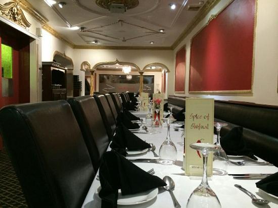 Royal Bengal Tandoori: Big party room