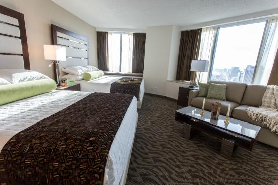 two bedroom suite picture of atlantic palace suites atlantic city tripadvisor