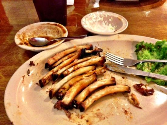 Woody's BBQ: Meal Finished