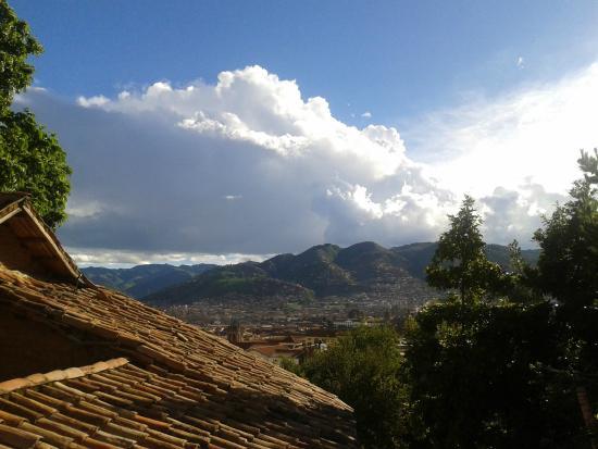 Vista a la ciudad desde Casa Sihuar