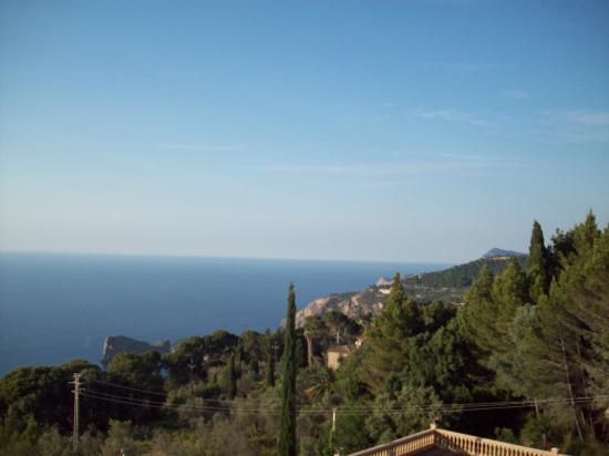 El Encinar Valldemossa Hotel: Vista desde la habitación 1