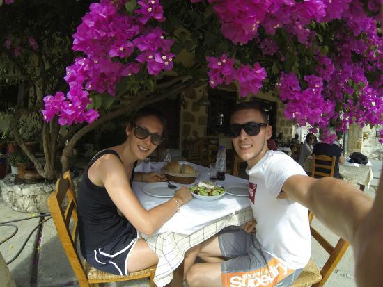 Maza, Grecia: Perfect lunch