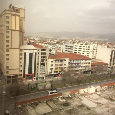 Anemon Fuar Hotel : Manzara