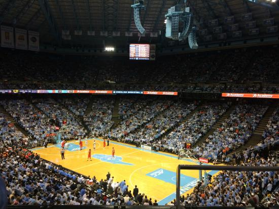 Dean E. Smith Center: lower section of 213