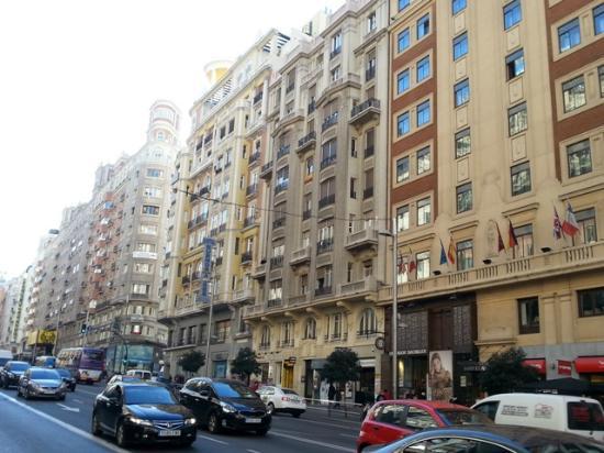 Escritorio Picture Of Espahotel Gran Via Madrid