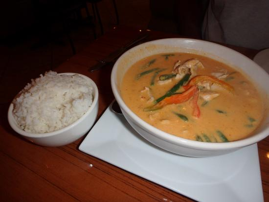 Spice Thai and Sushi Restaurant: Panang Curry with pork