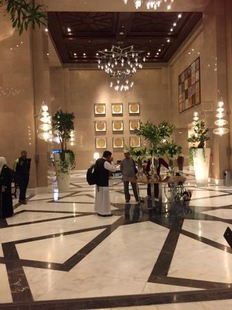 Makkah Province, Arabia Saudita: Lobby deco