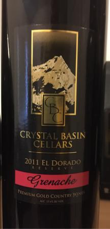 Crystal Basin Cellars: Cheers!