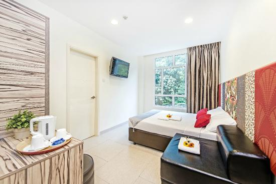 โรงแรม 81 โอซาก้า: Superior Plus Room (queen mattress plus 1 sofabed)