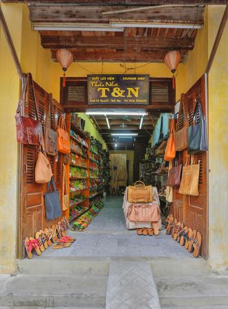 T & N Leather Shoes Bag