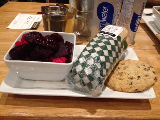 Scandinave Spa at Blue Mountain: Complimentary lunch