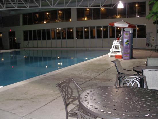 Indoor pool picture of crowne plaza hotel louisville for Pool expo show