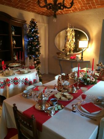 Cascina Rossa: Breakfast area