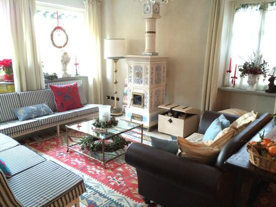 Cascina Rossa: Living room