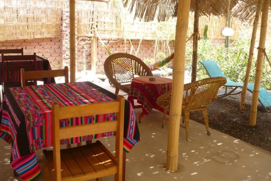 Hostel Nasca Trails: Jardín