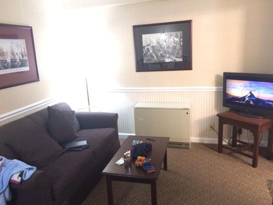 Comfort Inn & Suites: Sitting area