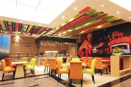 Royal City Hotel: Restaurant