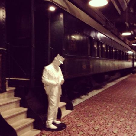 Crowne Plaza Indianapolis Downtown (Union Station): Train car rooms