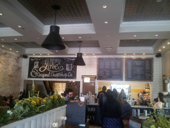 Original ChopShop: inside the restaurant