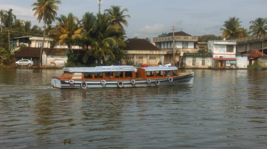Triveny River Palace: River facing
